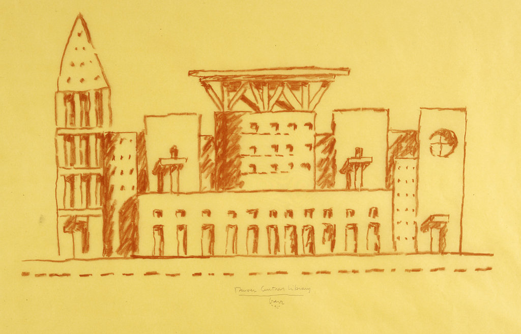 The lost art of drawing - Timothy Aikman Architect